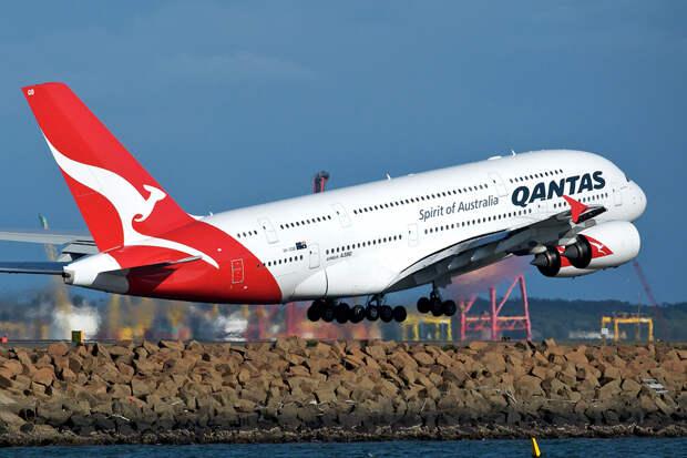 Австралийская авиакомпания оценила услугу на борту самолёта в миллионы долларов