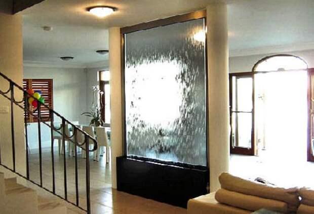 С какими проблемами можно столкнуться, решив установить в квартире декоративный водопад
