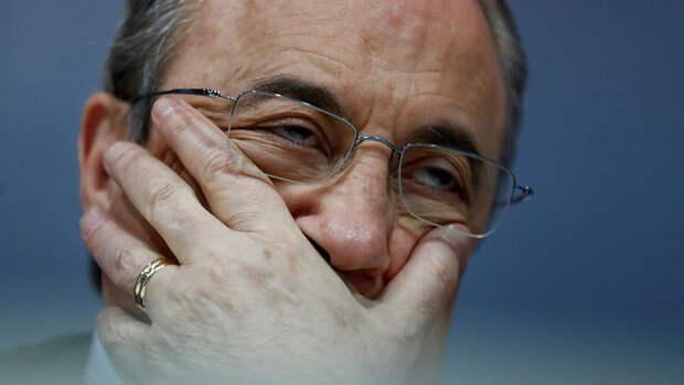 """Президент """"Реала"""" Перес назначен председателем европейской Суперлиги"""
