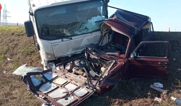 ВСорочинском районе вДТП погибли три человека
