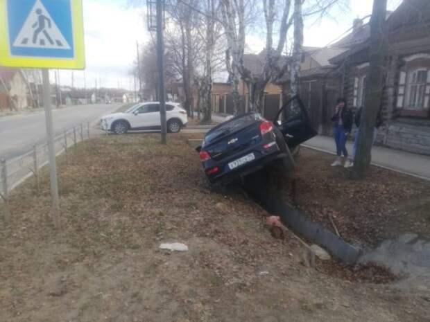 В Невьянске на перекрестке произошло серьезное ДТП