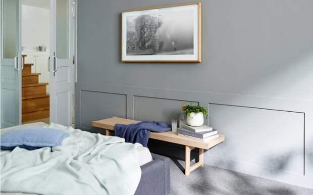 Цвет беленого дуба в современном интерьере