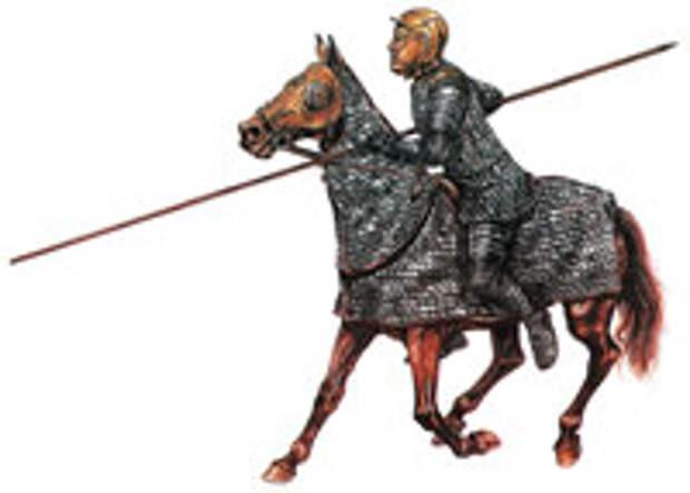 Тяжелый кавалерист - клибанарий
