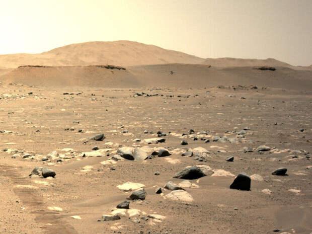 Ученые разогнали вертолет Ingenuity на Марсе до рекордной скорости