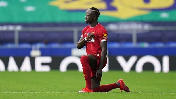 Темнокожий футболист «Ливерпуля» Мане испортил акцию против расизма