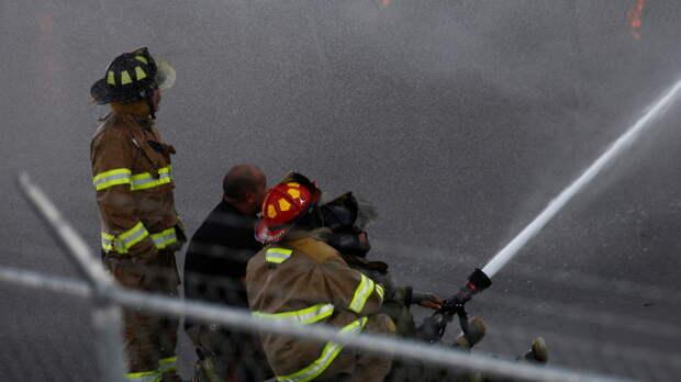 В Мексике при пожаре на заводе пострадали 11 рабочих