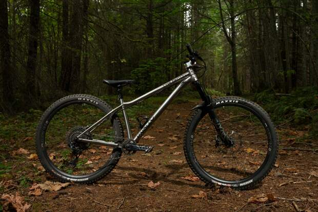 Knolly Tyaughton adds Titanium and Steel options for a 150mm hardcore hardtail