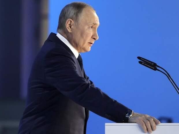 Всё самое главное из послания Путина в 20 твитах: цифры, размеры выплат и «кому что положено»