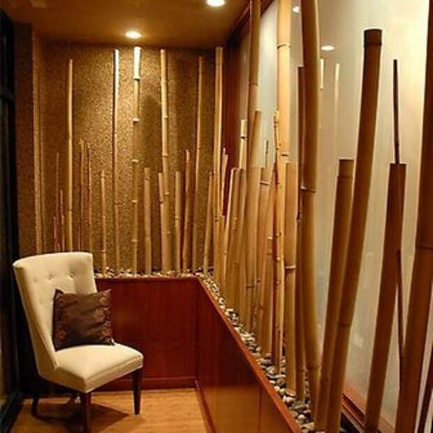 декор из бамбука