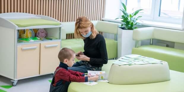 Врачам из детской поликлиники на Академика Комарова стал доступен цифровой паспорт ребенка