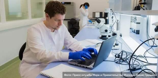 Сергунина: На платформе «Карта инновационных решений» предприниматели разместили 2,6 тыс. разработок. Фото: Д. Гришкин mos.ru