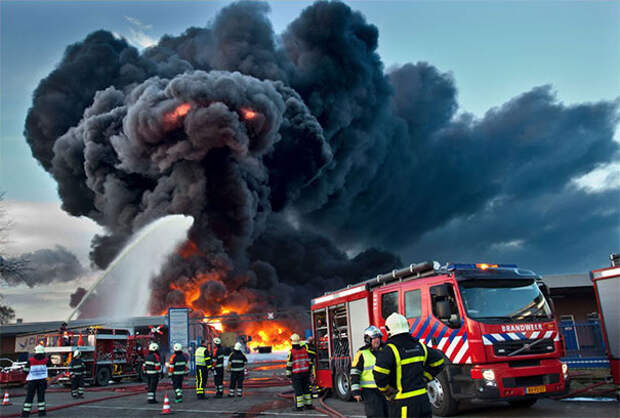 Слон из огня и дыма.