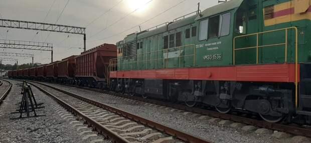 В Крым прибыли вагоны с экспортным зерном