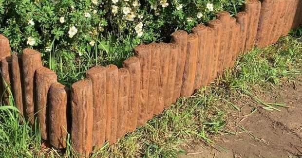 Опытные дачники не покупают заборчик для клумбы, а делают его сами за копейки