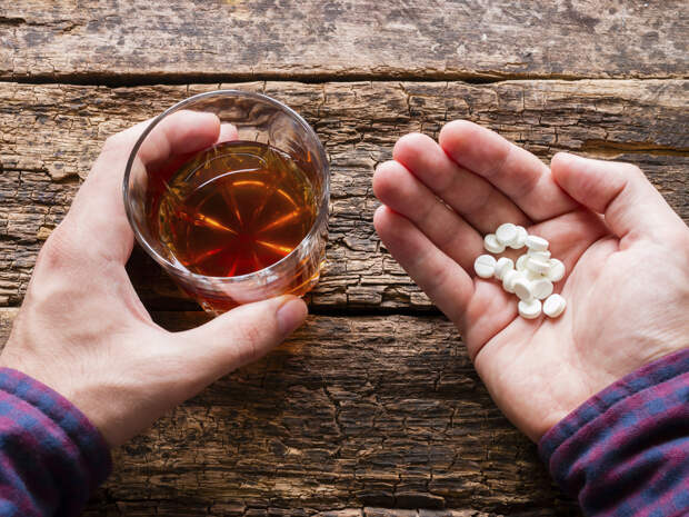 Воздействие совмещения алкоголя с лекарствами на разные органы и системы