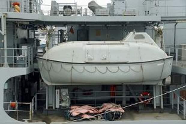 На фото: подводная лодка Midget на палубе исследовательского корабля ВМС Великобритании HMS Echo (H87)