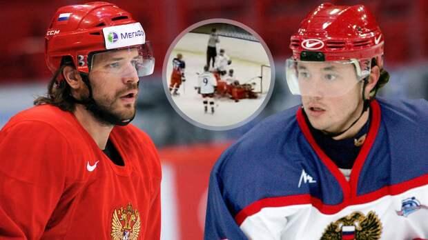 Знаменитой драке русского хоккеиста Ковальчука — 20 лет. Он бил швейцарцев в Москве на пару со Свитовым: видео