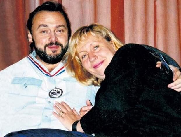 Дмитрий Золотухин и Марина Голуб