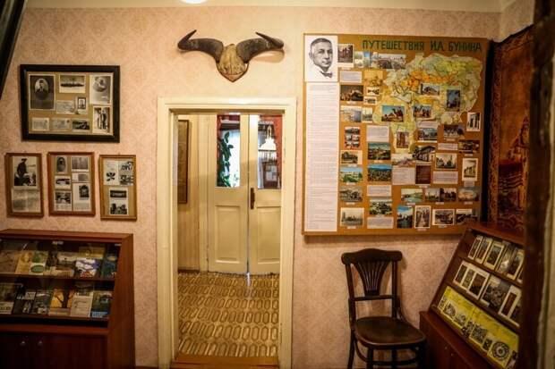 Уголок старины: Литературный музей Ивана Бунина в Ельце