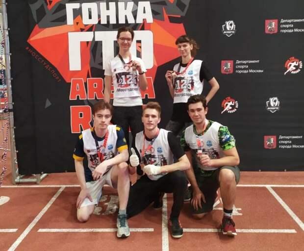 Сборная команда Строгановки получила медали за гонки с препятствиями