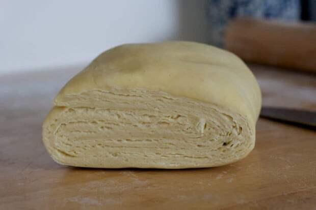 Слоёное тесто быстрого приготовления