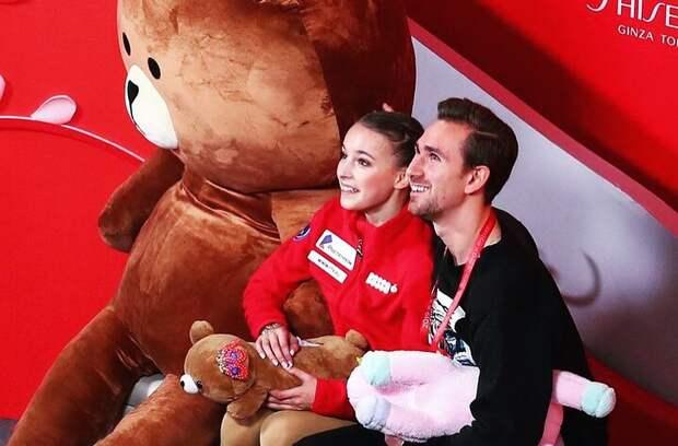 Щербакова рассказала, что сделала сподаренным ейвКитае гигантским медведем