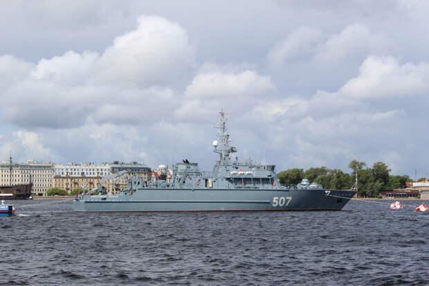 Петербург накануне Главного военно-морского парада