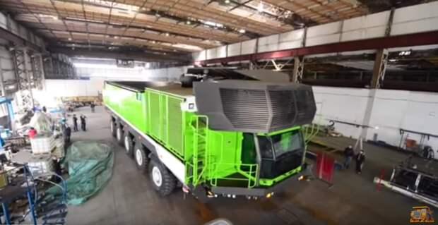 Грузовик-монстр грузоподъемностью 760 тонн из Словении