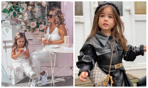 Малышка намиллион: мать изБритании собрала для трехлетней дочери дизайнерский гардероб стоимостью 2 миллиона рублей