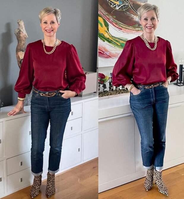 В 50 нужно жить ярко и выглядеть стильно. Вы можете себе это позволить
