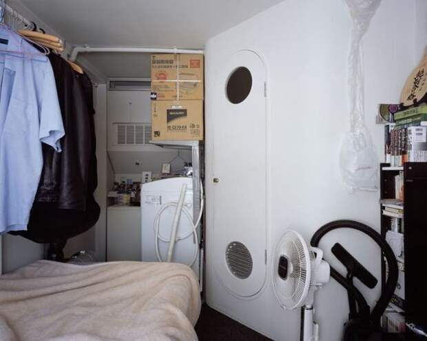Nakagin Capsule Tower. Или жизнь на 9 квадратных метрах Суточная аренда, Токио, Квартира, Малогабаритное жильё, Необычное, Длиннопост