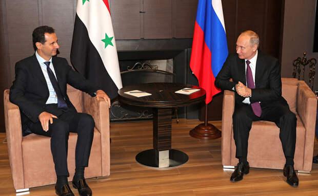 Путин предложил США, Ирану, Хезболле, Турции и всем, всем, всем ... убраться из Сирии