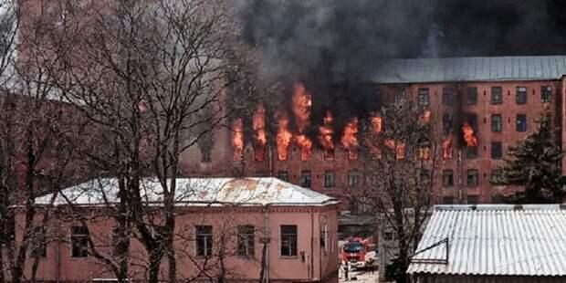 Названа возможная причина инцидента на «Невской мануфактуре»