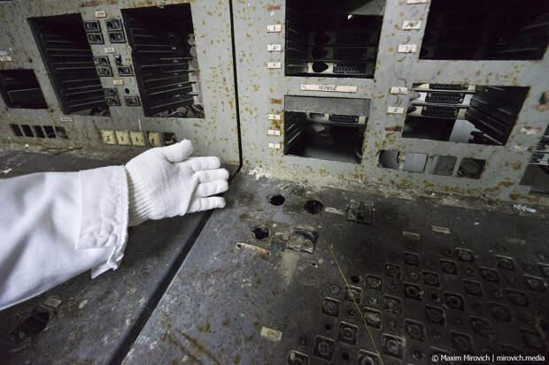Что находится внутри Чернобыльской АЭС.
