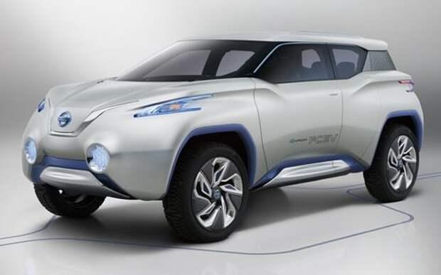Nissan привезет в Россию электрический кроссовер