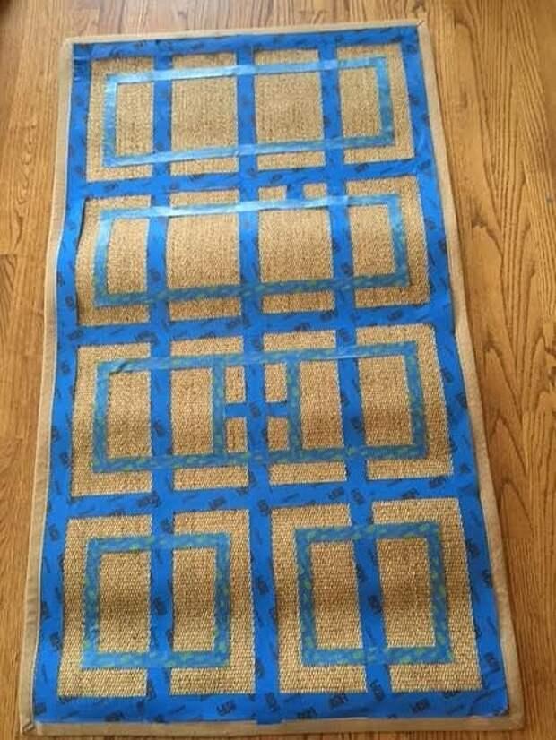 Обновление коврика diy