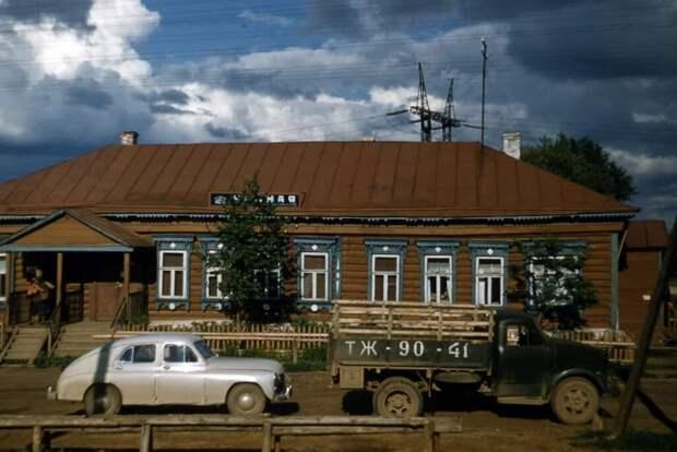 Окошко в прошлое: 15 цветных фото из СССР сталинской эпохи