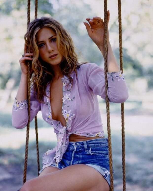 Актриса Дженнифер Энистон в фотосессии 1998 года (8 фото)