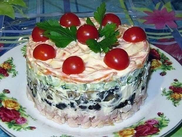 Салат «Вкуснятина»!