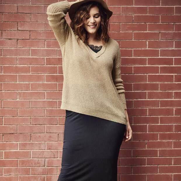 С чем сочетать пуловер? /Фото: skidka-nnovgorod.ru