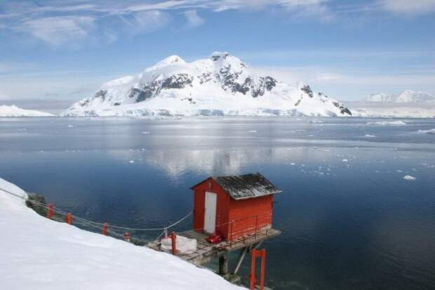 Невероятная красота Антарктиды