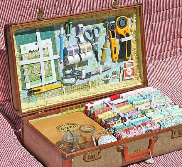 Рукодельные чемоданчики рукодельникам