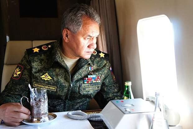 Сергей Шойгу: Операция в Сирии возродила российский боевой дух