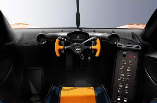 808.media GMA T.50s Niki Lauda: суперкар, способный ездить по стенам и потолку