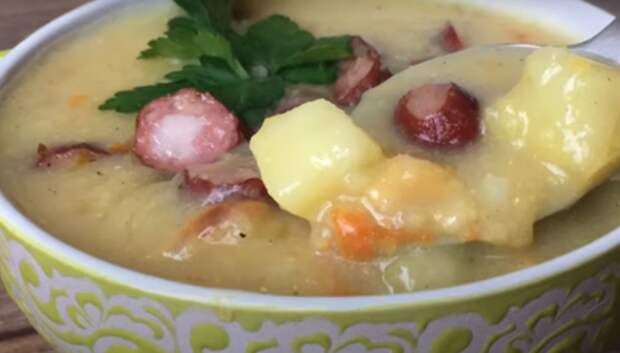 Гороховый суп - вкусно и просто