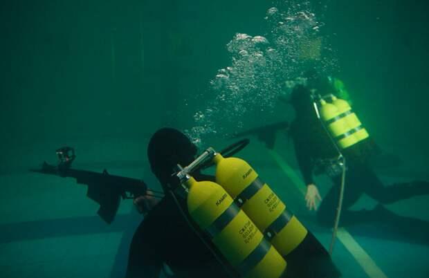 Экспертная оценка снаряжения российских боевых пловцов