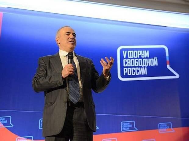«О!Пять! Росбалт»: Гарри Каспаров о будущем Навального, санкциях против РФ и поглощении Белоруссии