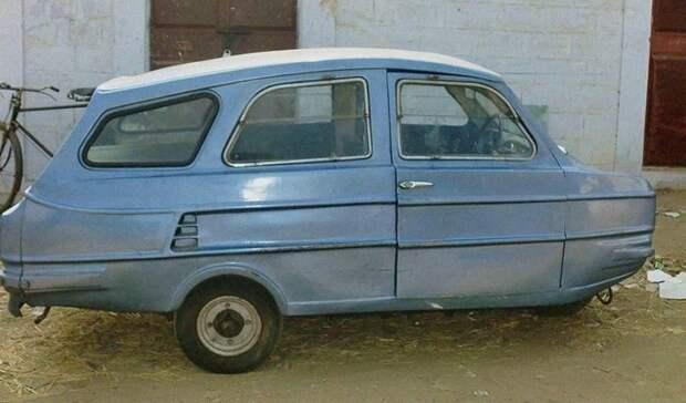 Мы его нашли! Это индийский автомобиль, на фоне которого «Копейка» кажется «Майбахом»