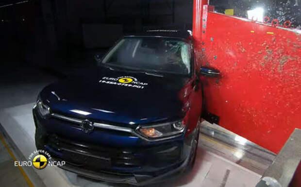 Новые краш-тесты: разбиты Skoda, BMW, Mercedes...