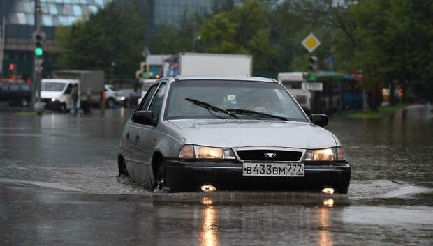 Подтопление территории устранили в деревне Лемешово округа Подольск